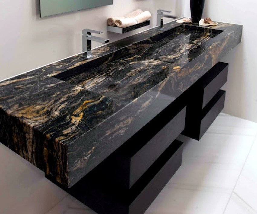 Beautiful Modern Granite Sink