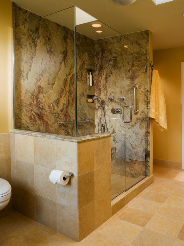Granite Shower Walls U0026 Floor