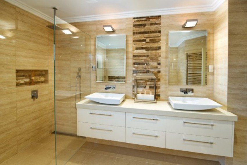 Modern Granite Bathroom
