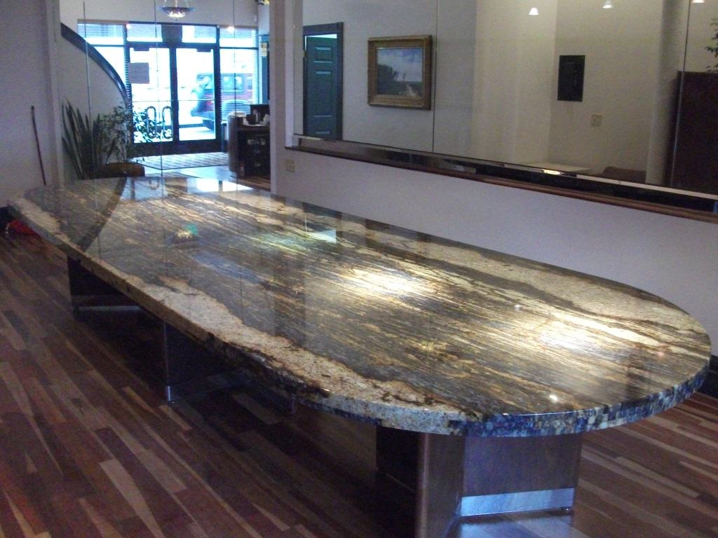 Awesome Granite Conference Table